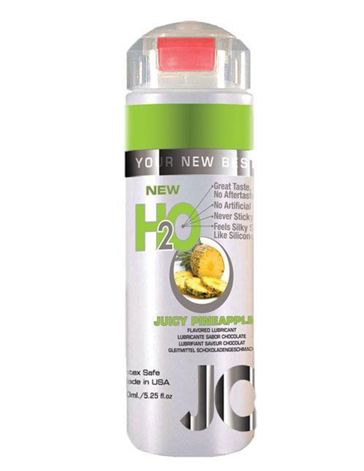 H2o Flavored Lubricant - Pineapple 5.25 Oz