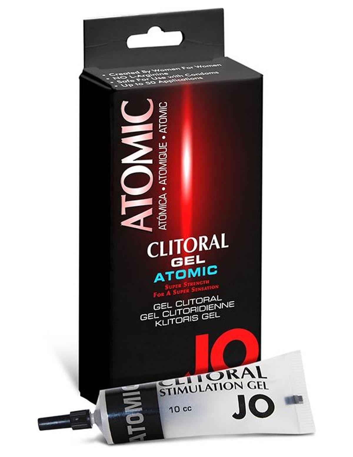 Atomic System Jo Clitoral Gel