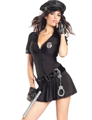 MRS. LAW COP COSTUME - PLUS