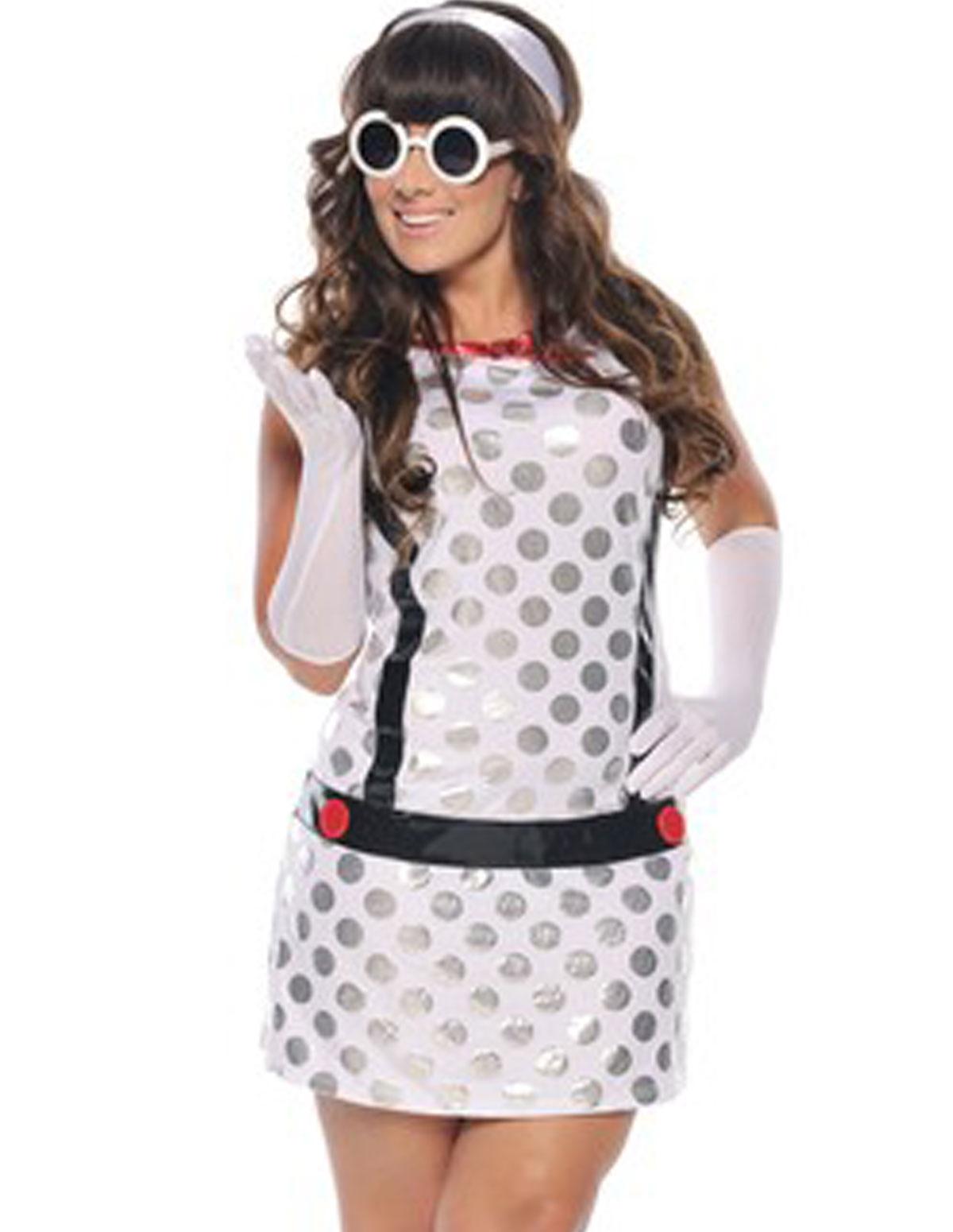 Miss Mod Costume - Plus