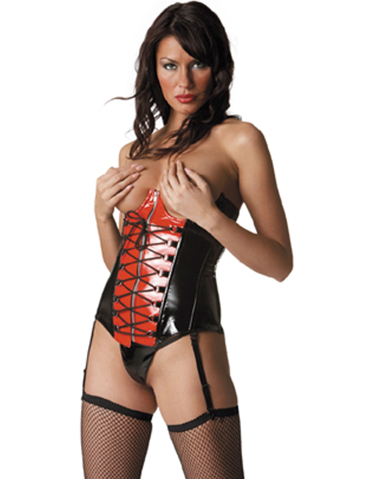 Vinyl Submission Corset