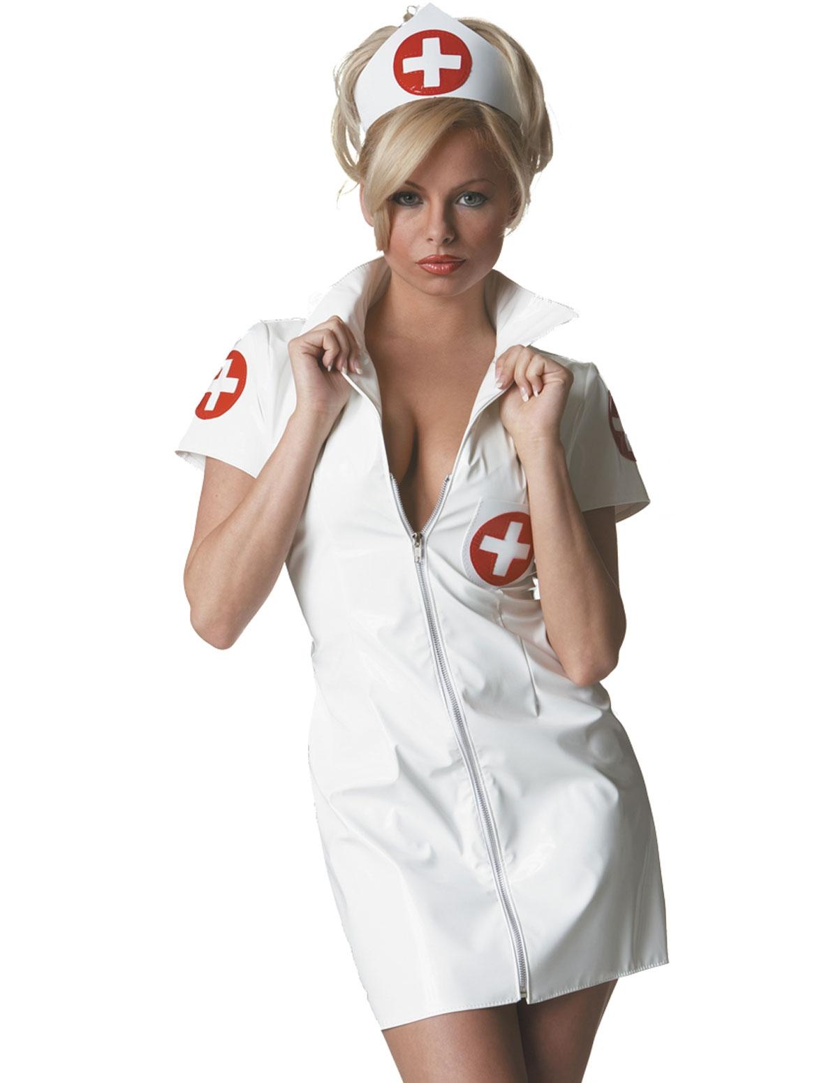 Vinyl Nurse Costume
