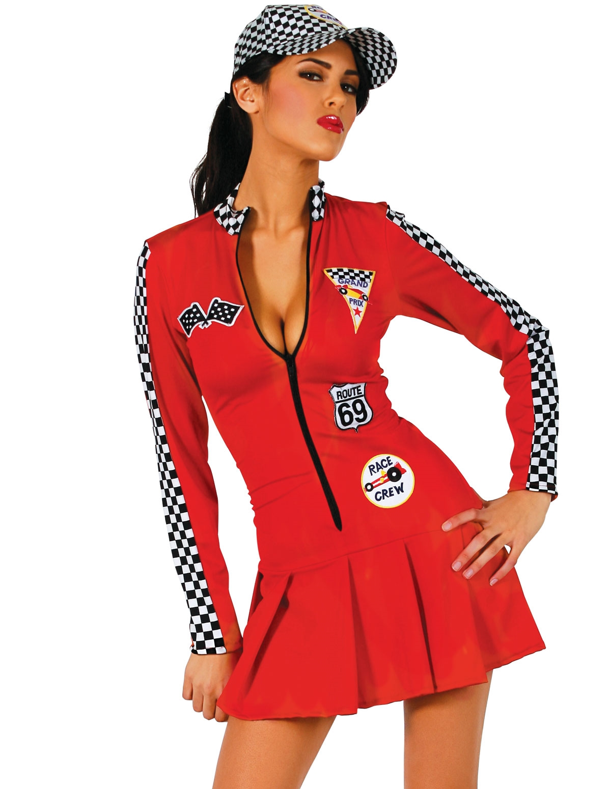 1Pc Racer Girl Costume