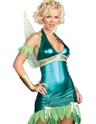 GREEN LAME FAIRY COSTUME