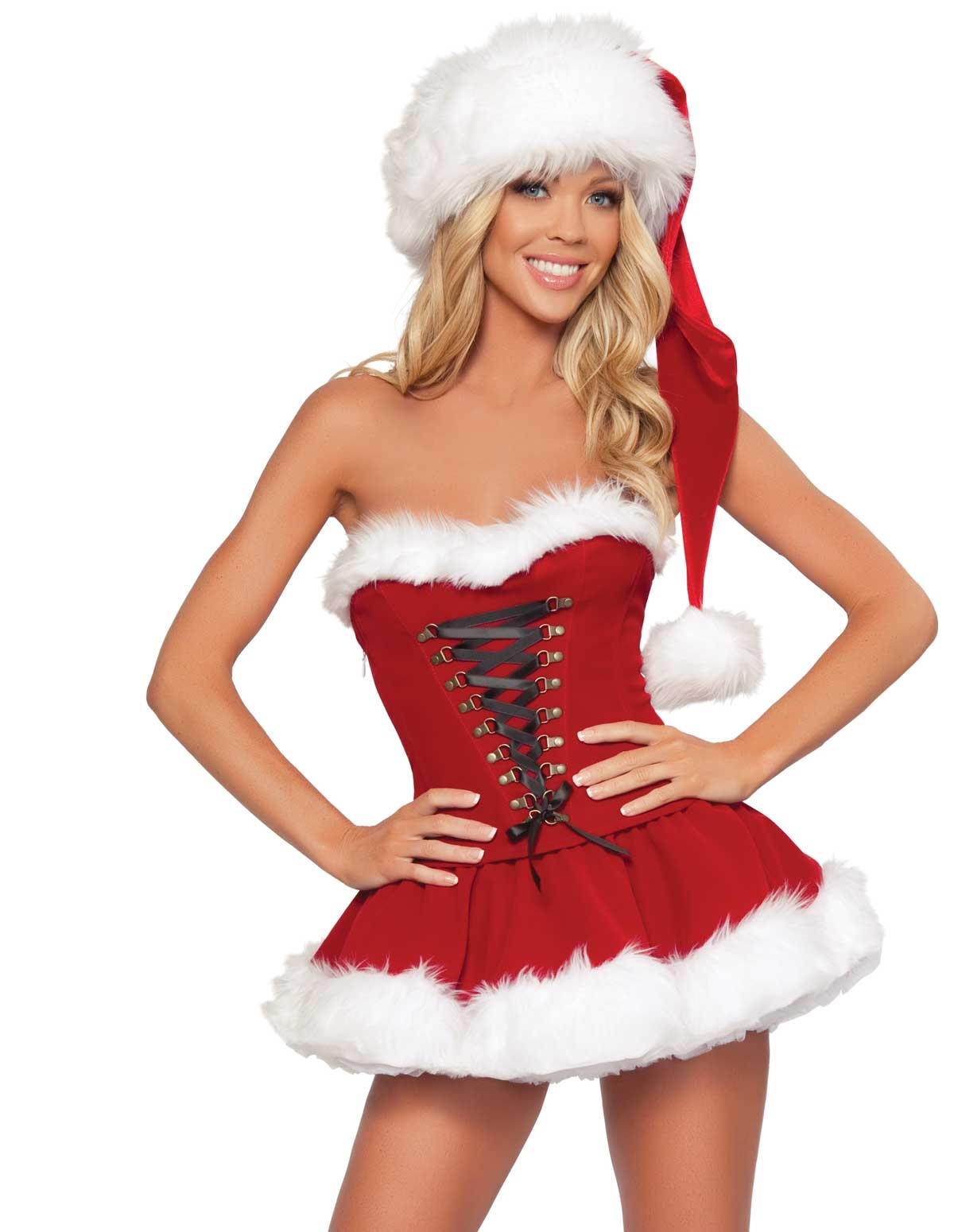 Santa Skirt Set