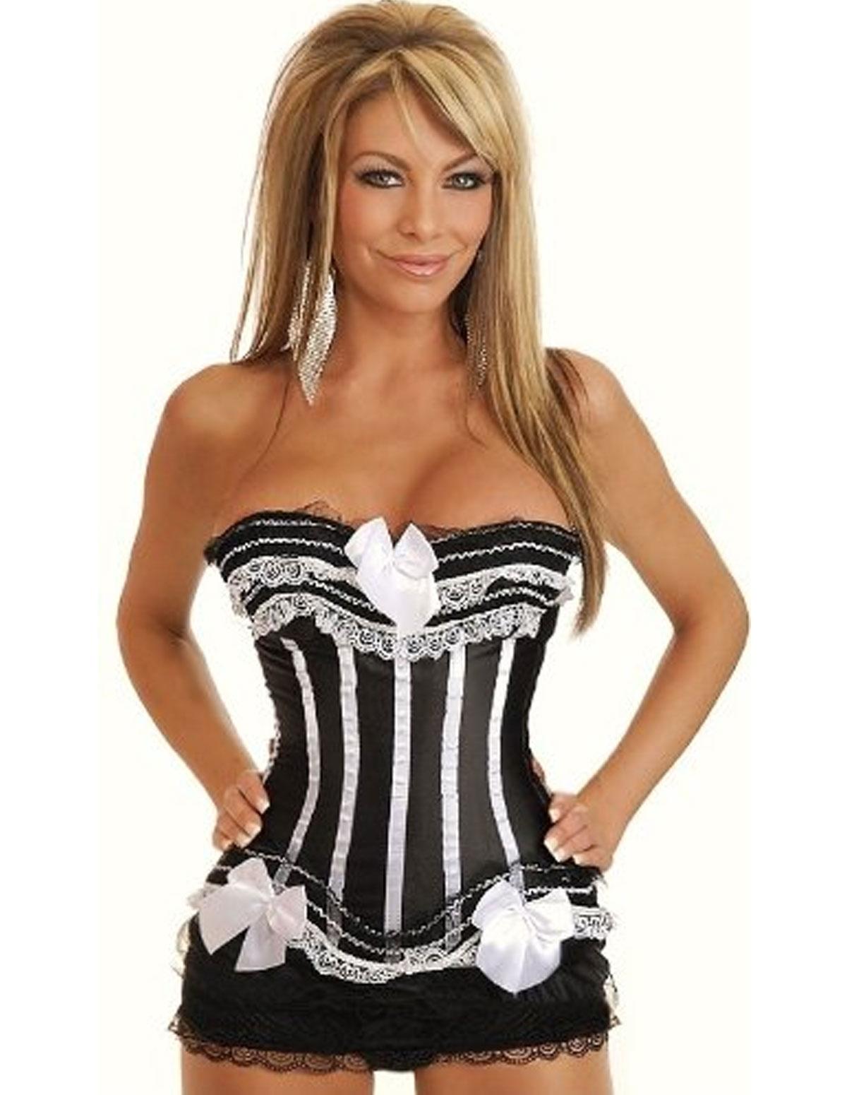 Burlesque Maid Corset