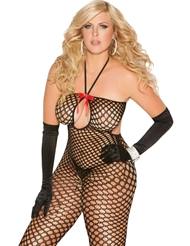 CROCHET BODYSTOCKING - PLUS