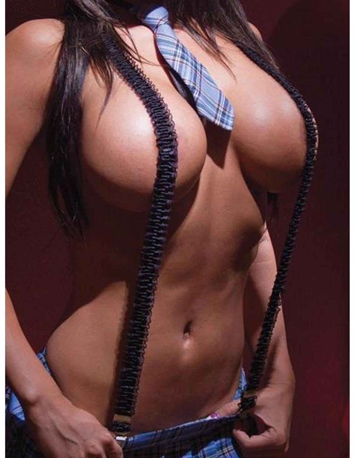 Ruffle Suspenders