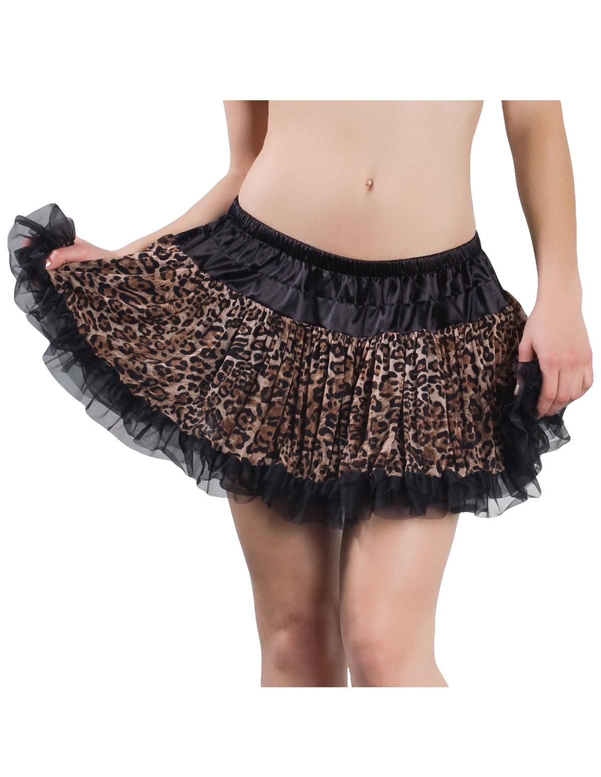 Leopard Petticoat