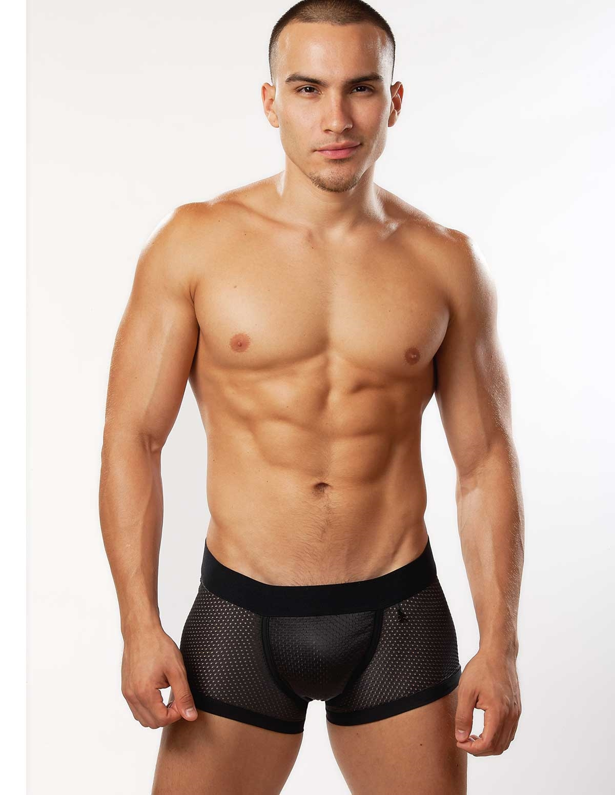 Athletic Mesh Trunk