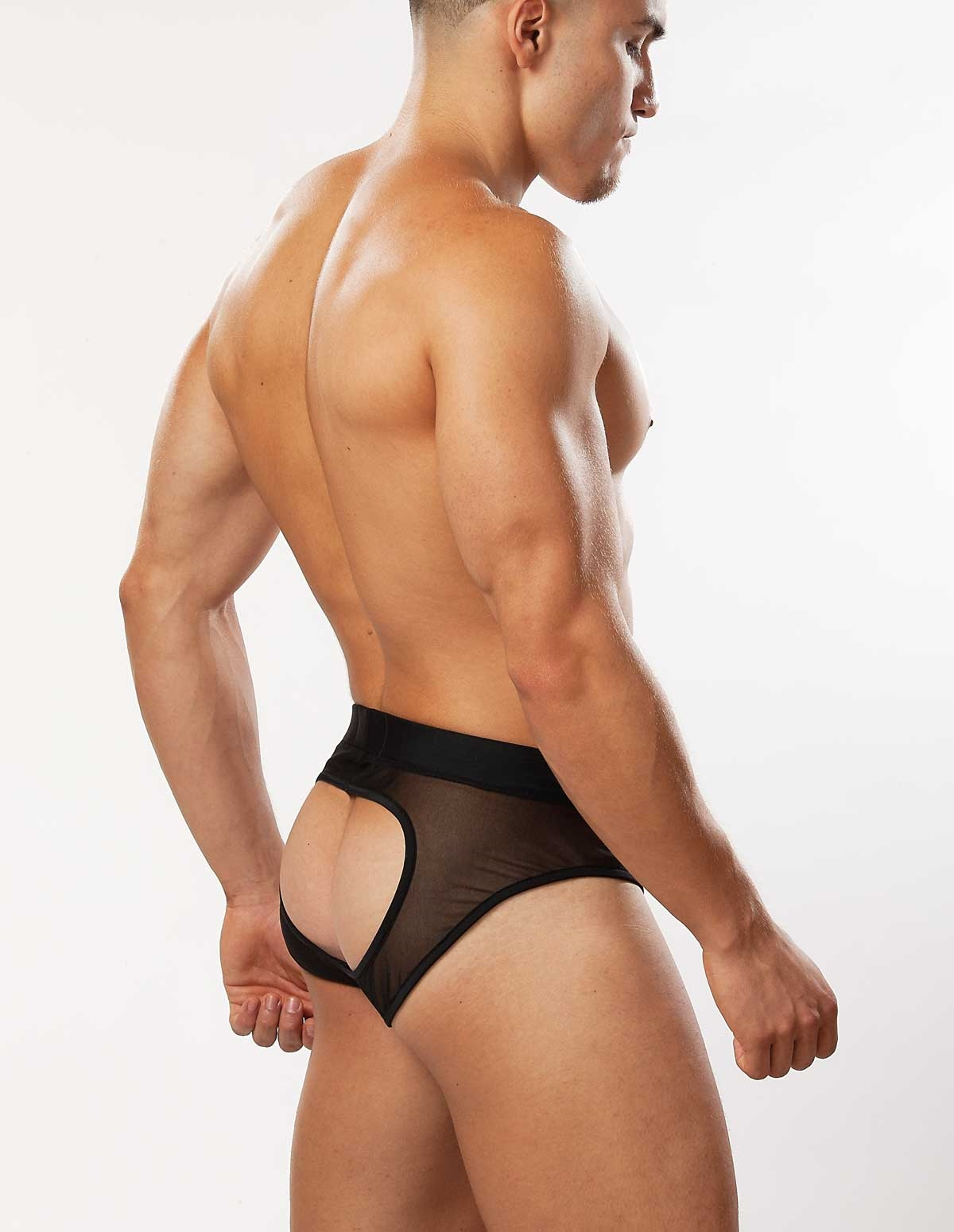 Open Back Brief