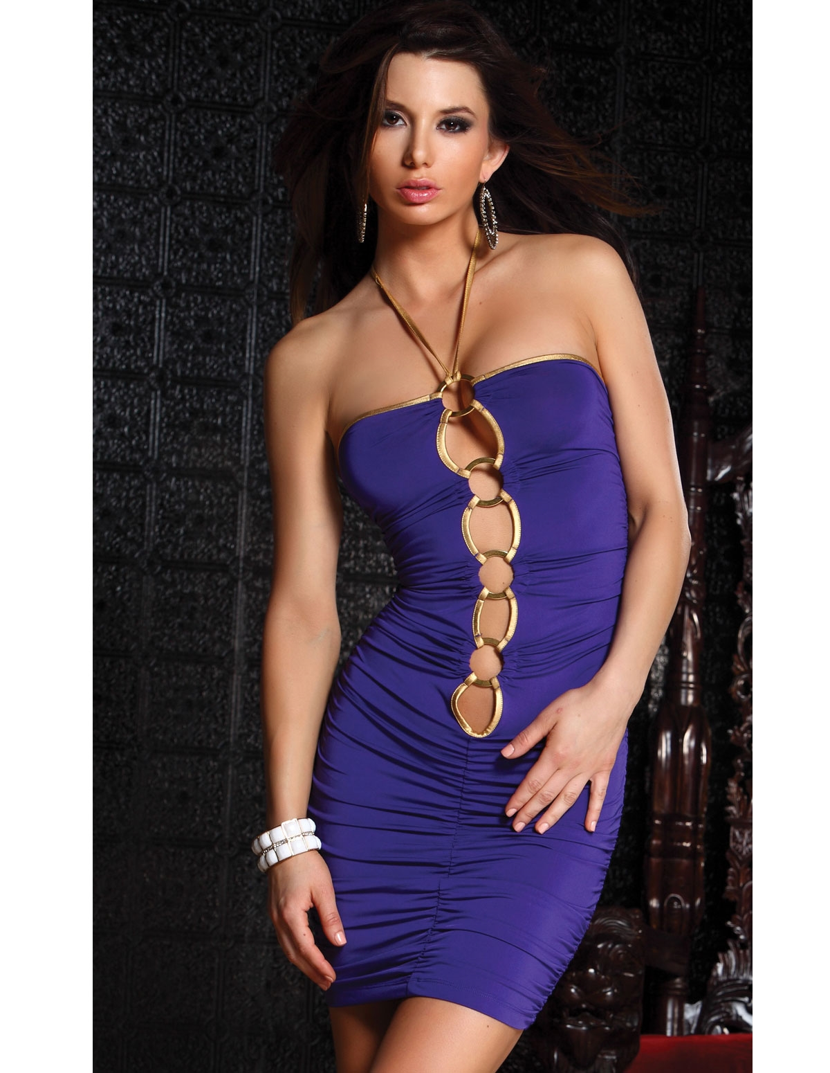 Purple Pleasure Dress