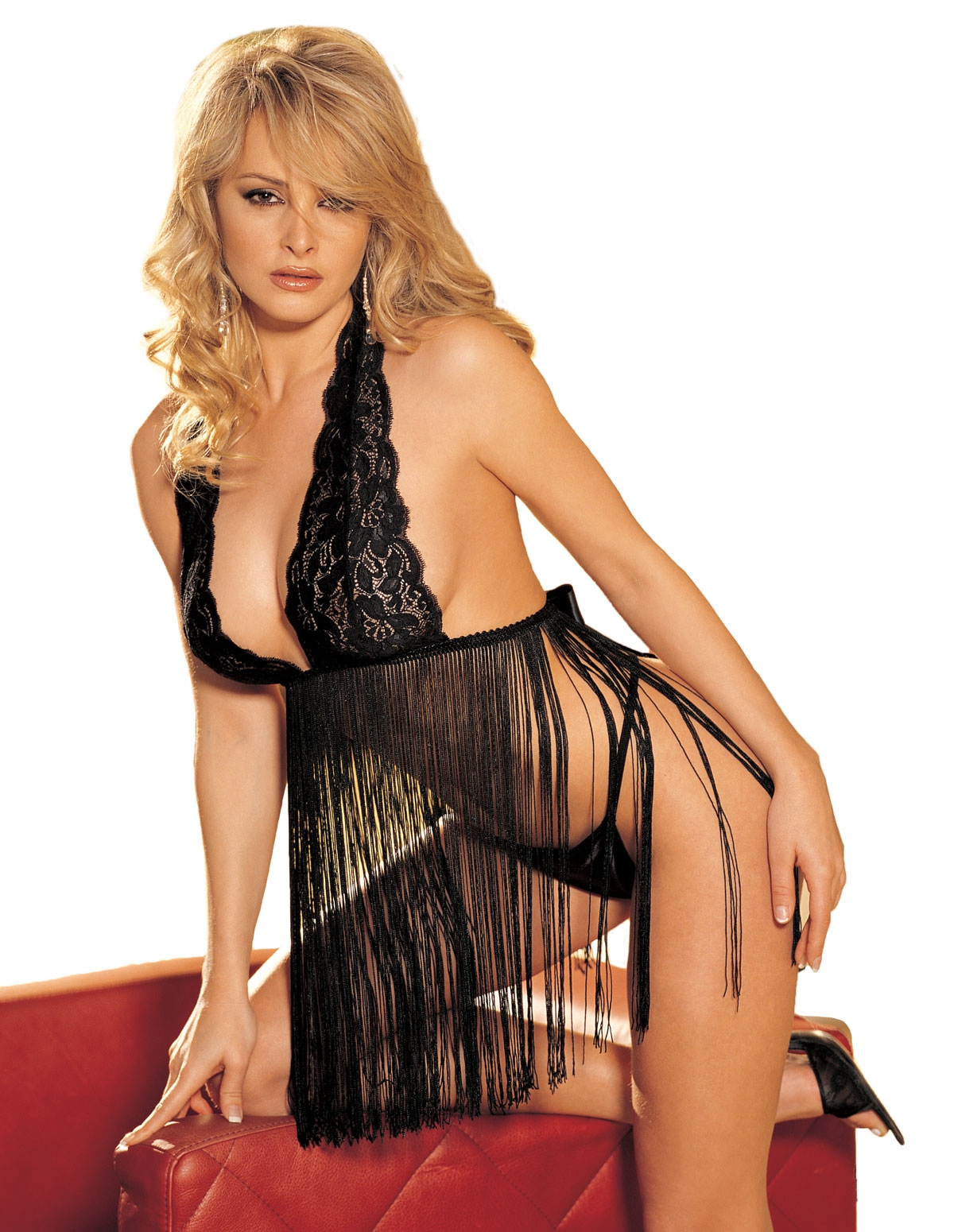 Fringe Babydoll With Thong