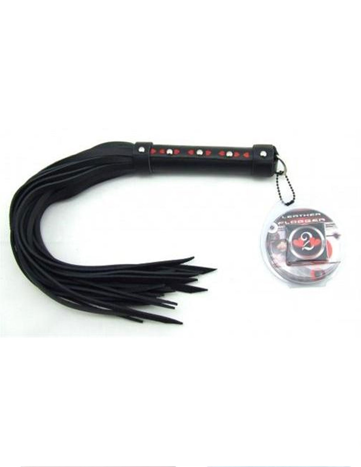 Heart Leather Flogger