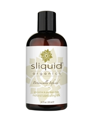 SLIQUID SILK ORGANIC LUBE 8.5 OZ