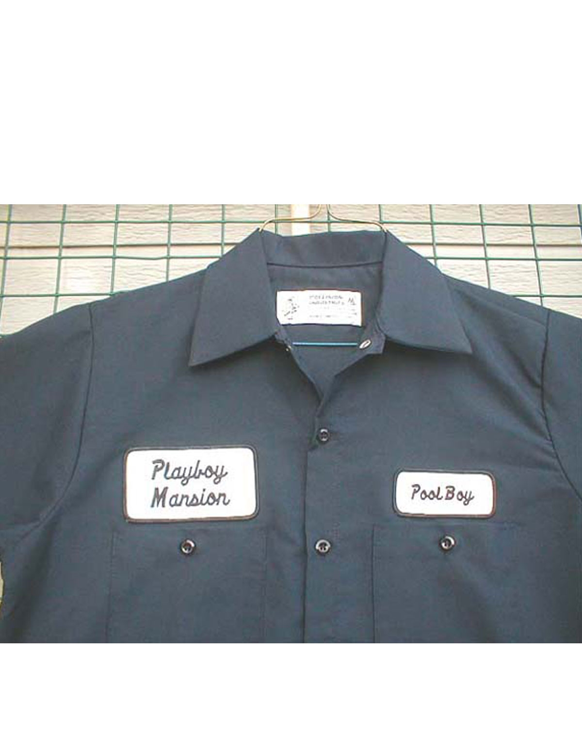 Pool Boy Work Shirt