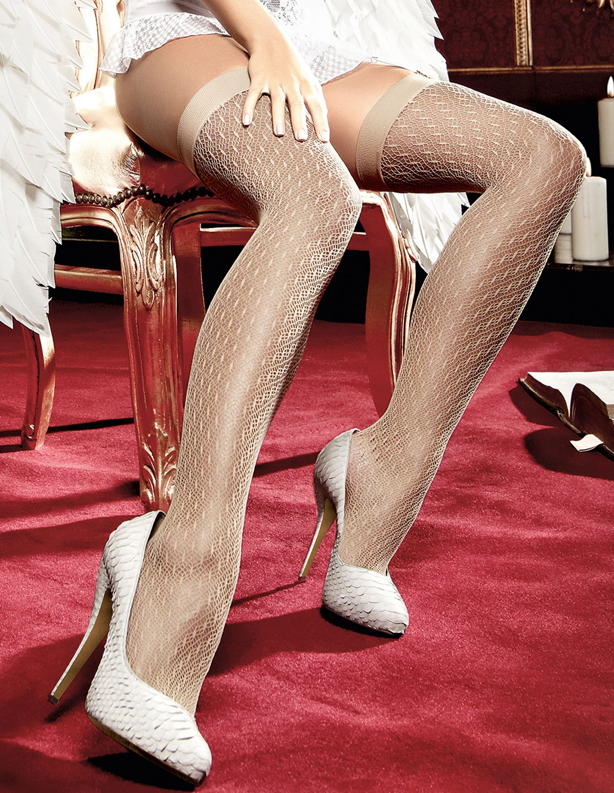Nude Net Thigh High