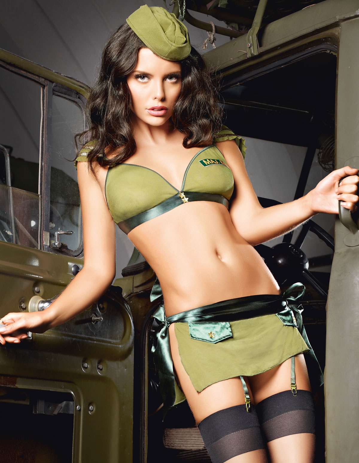 3Pc Sexy Soldier