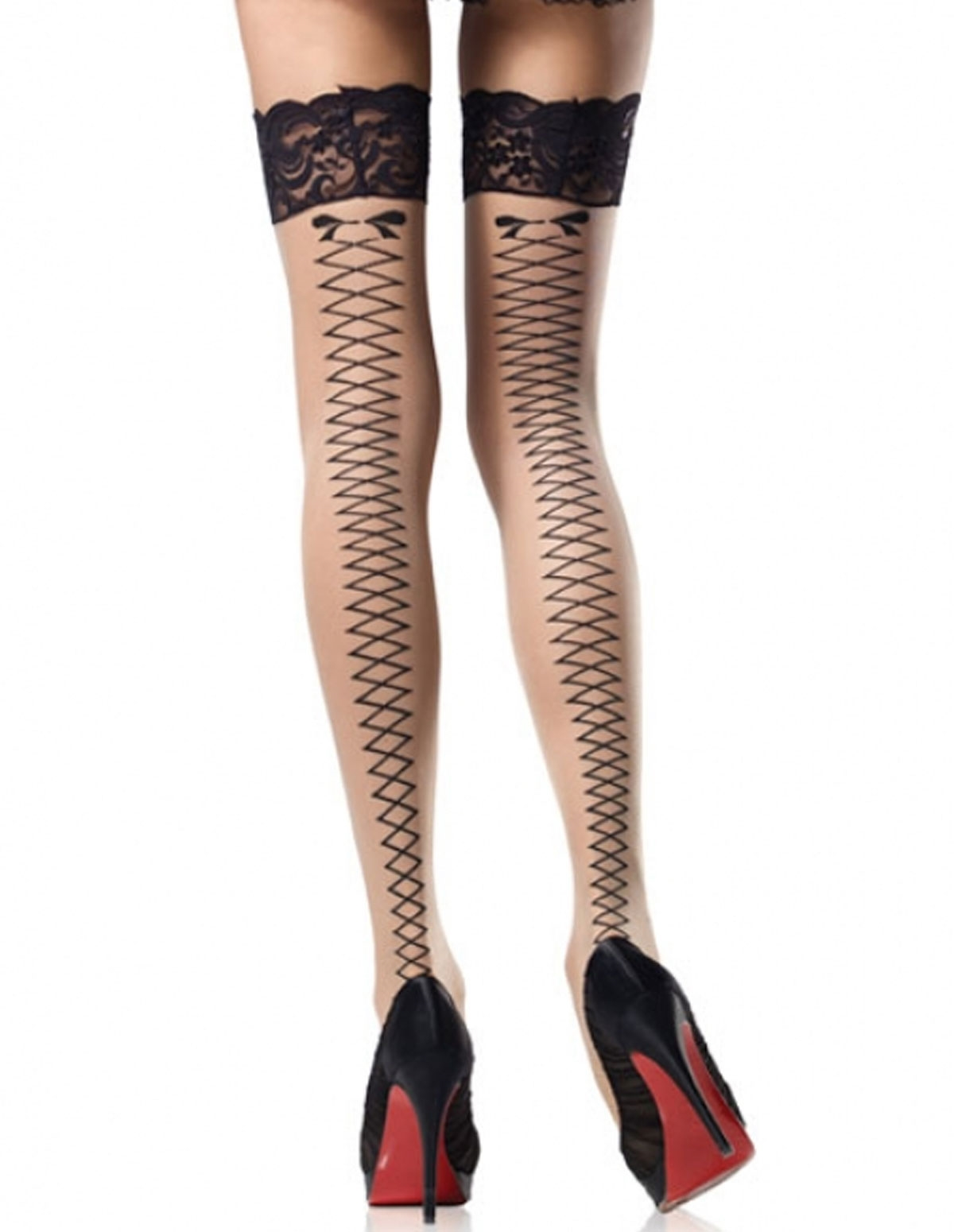Corset Backseam Stocking