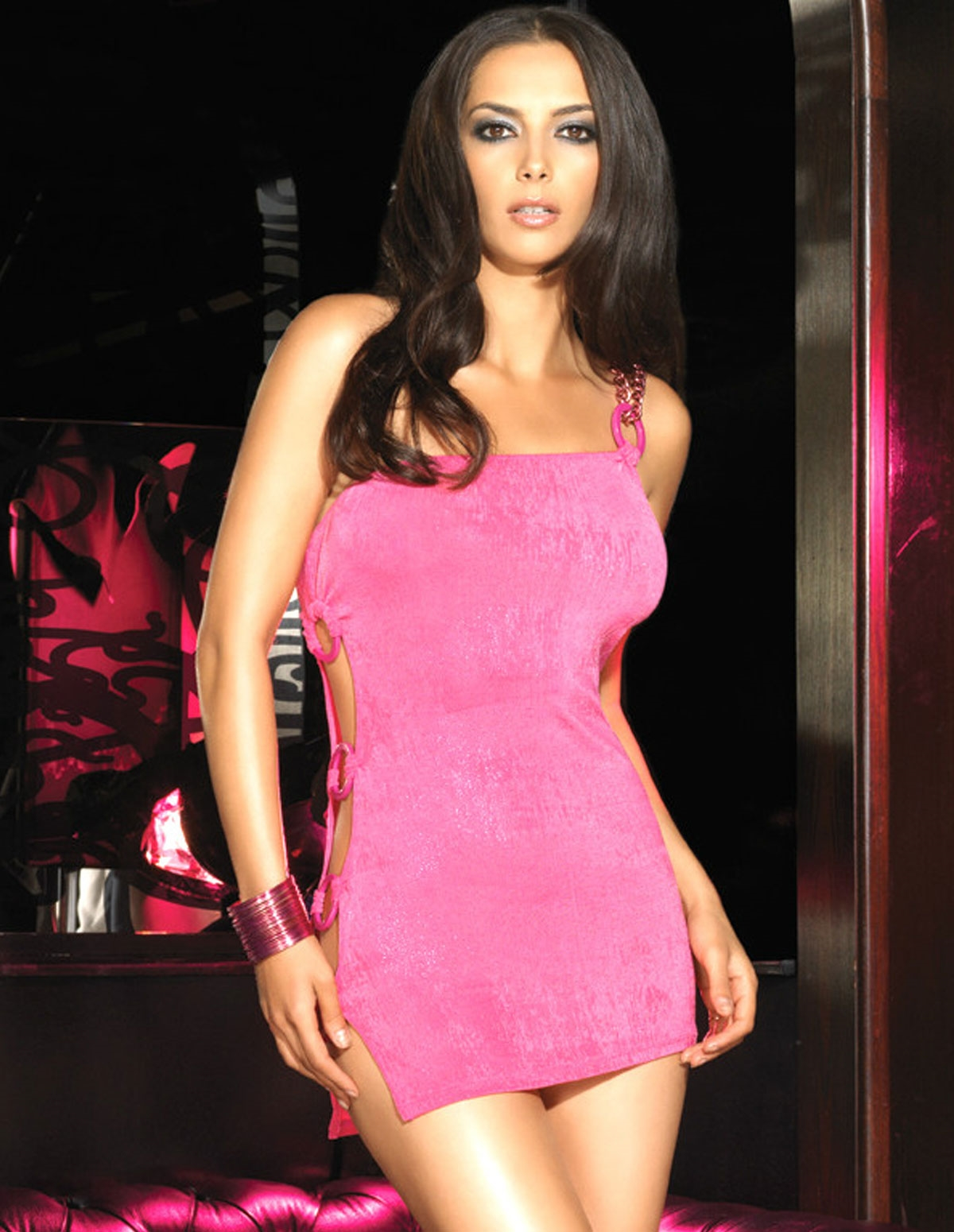 Slinky Mini Dress