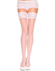 SHEER LACE TOP STAY UP THIGH HIGH
