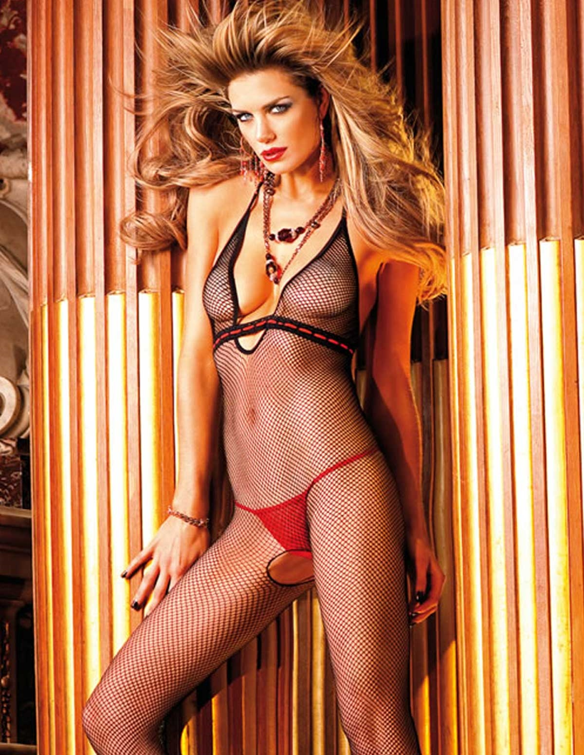 Halter Net Bodystocking