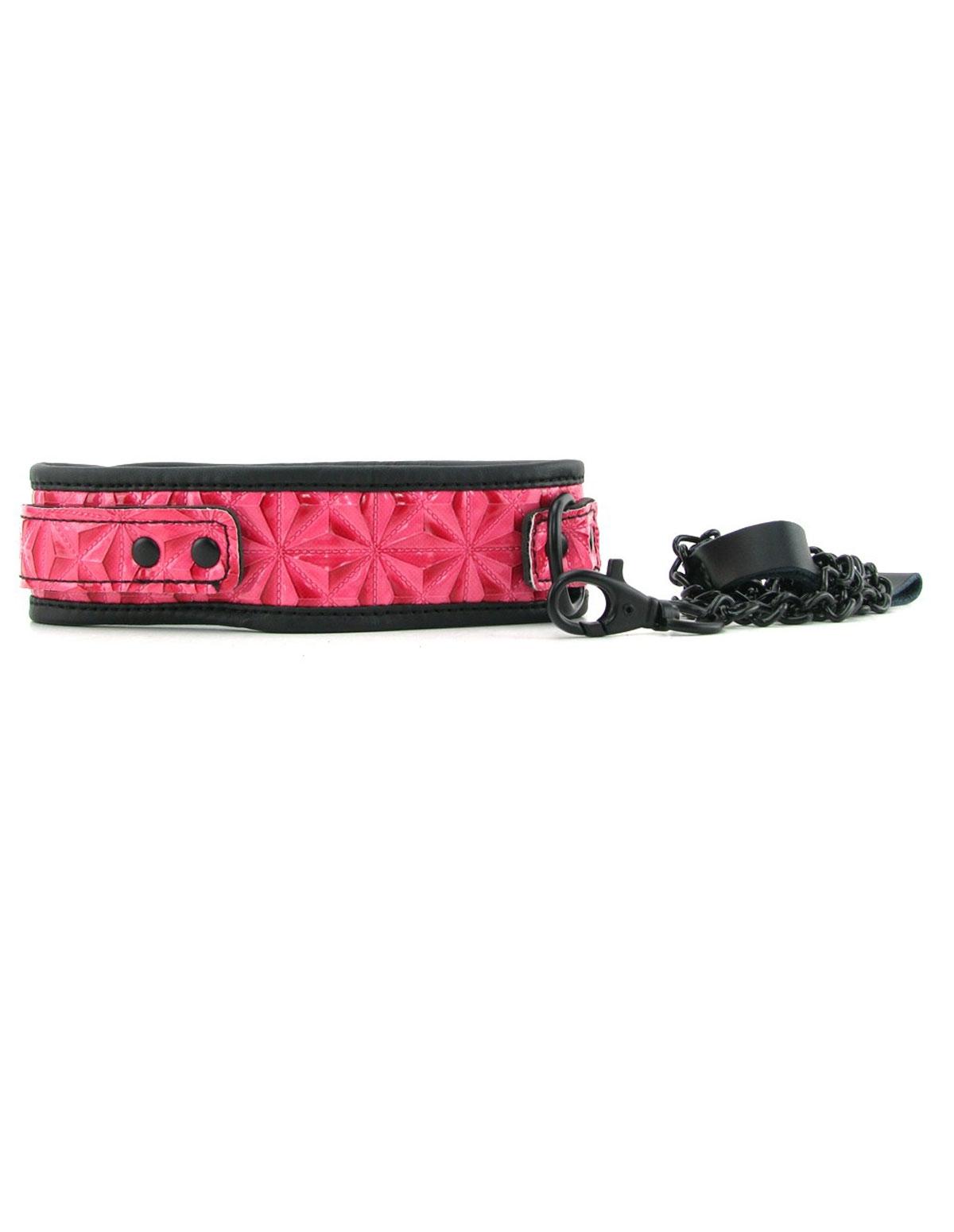 Sinful Collar & Leash Pink