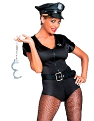 OFFICER FRISKY COSTUME - PLUS