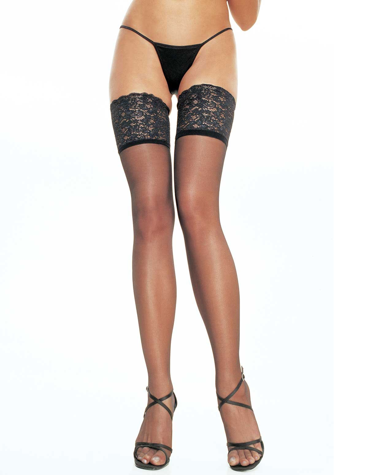 5 Inch Lace Top Thigh High