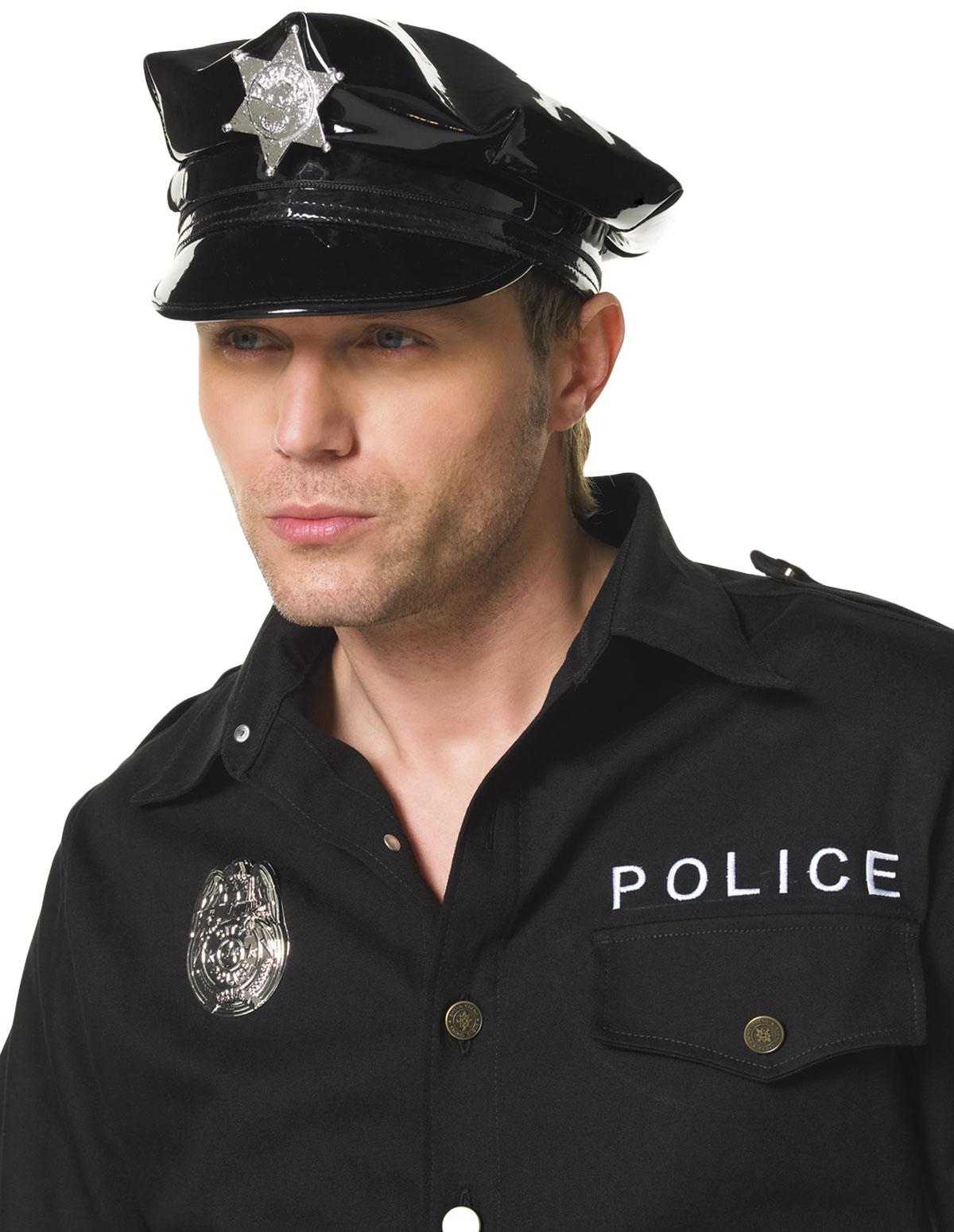 Mens Cop Hat