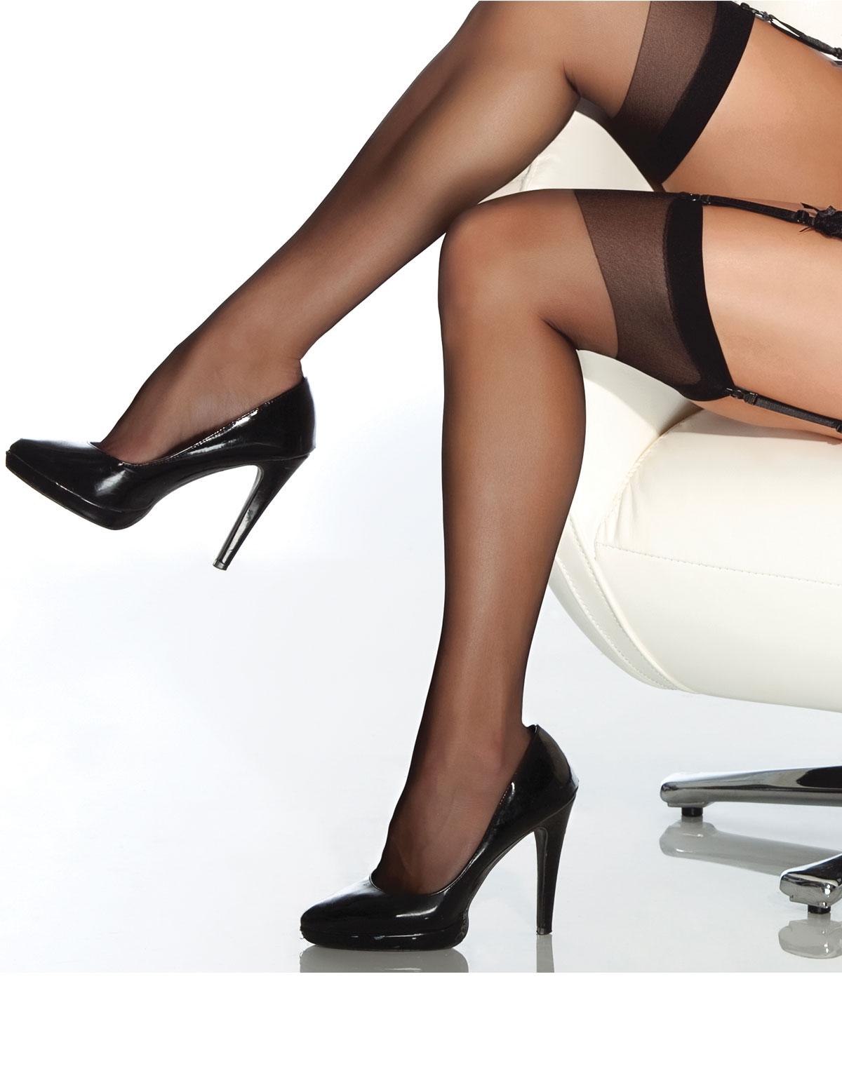 Sheer Stockings - Reg & Plus