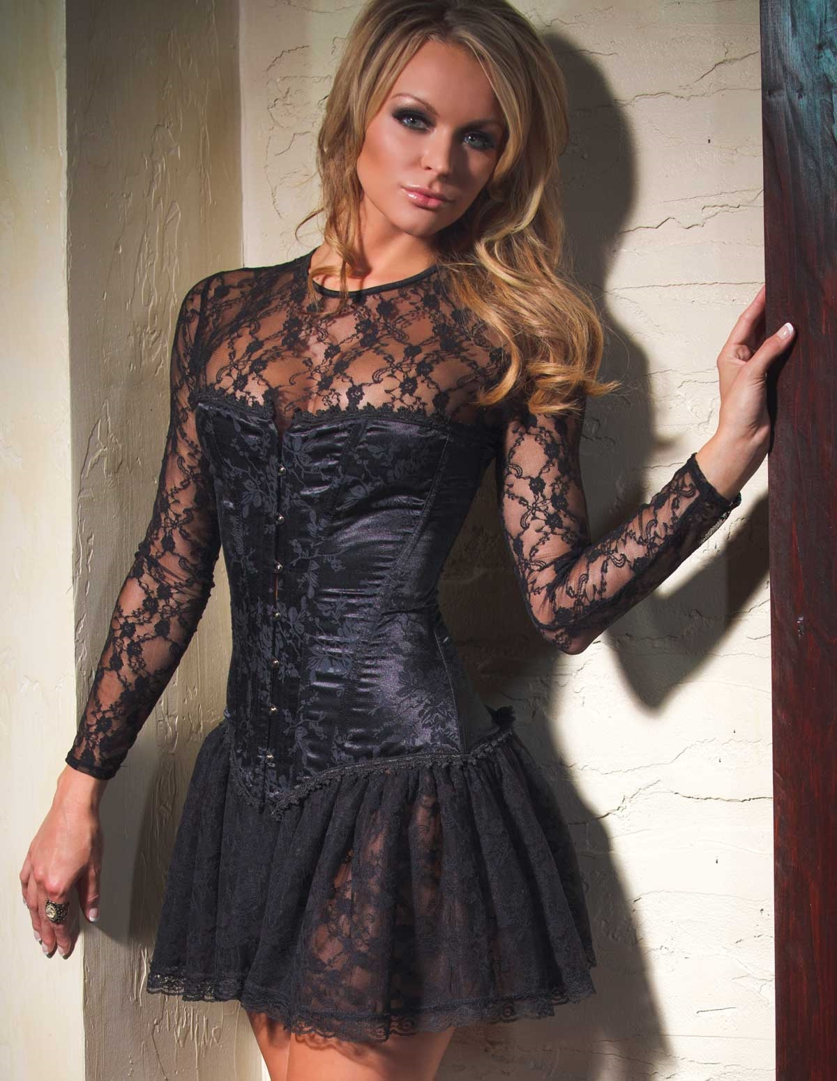 Stretch Lace Dress