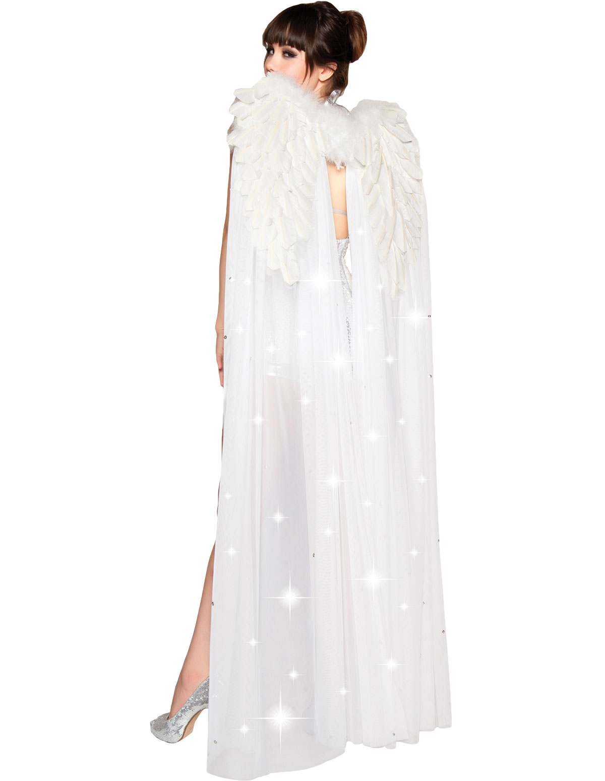 Angel Goddess Wings White