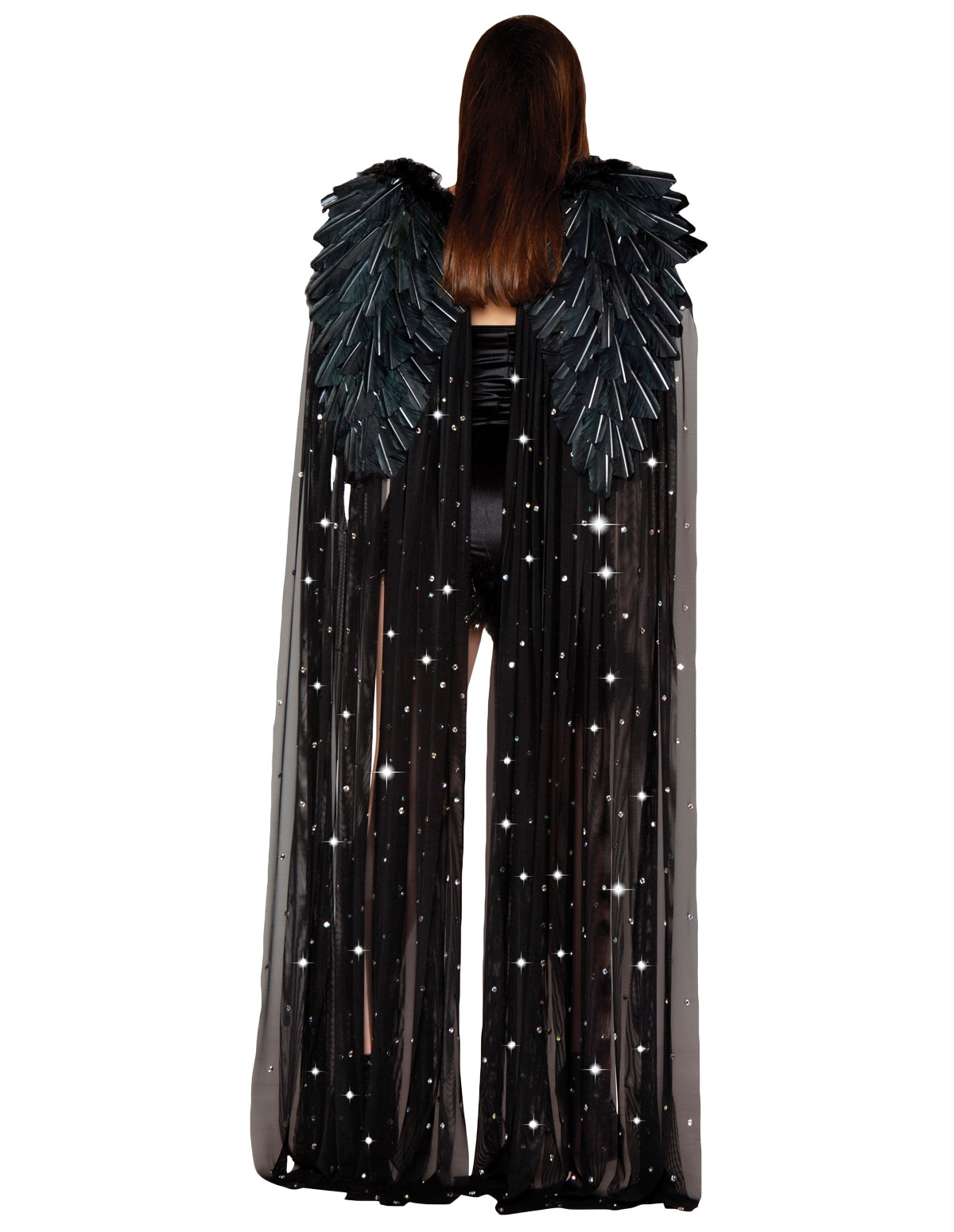 Angel Goddess Wings Black