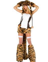 SEXY SABERTOOTH TIGER COSTUME
