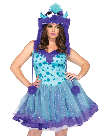 POLKA DOTTY COSTUME - PLUS