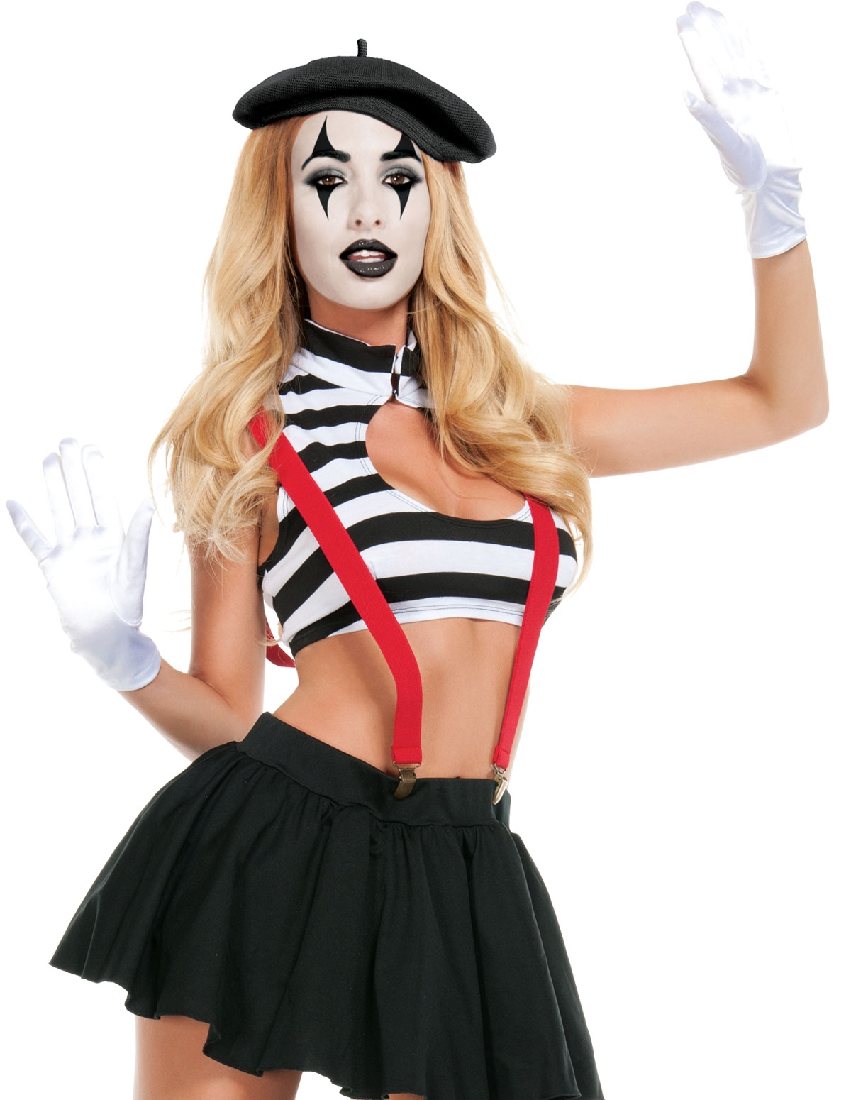 Hush Mime Costume