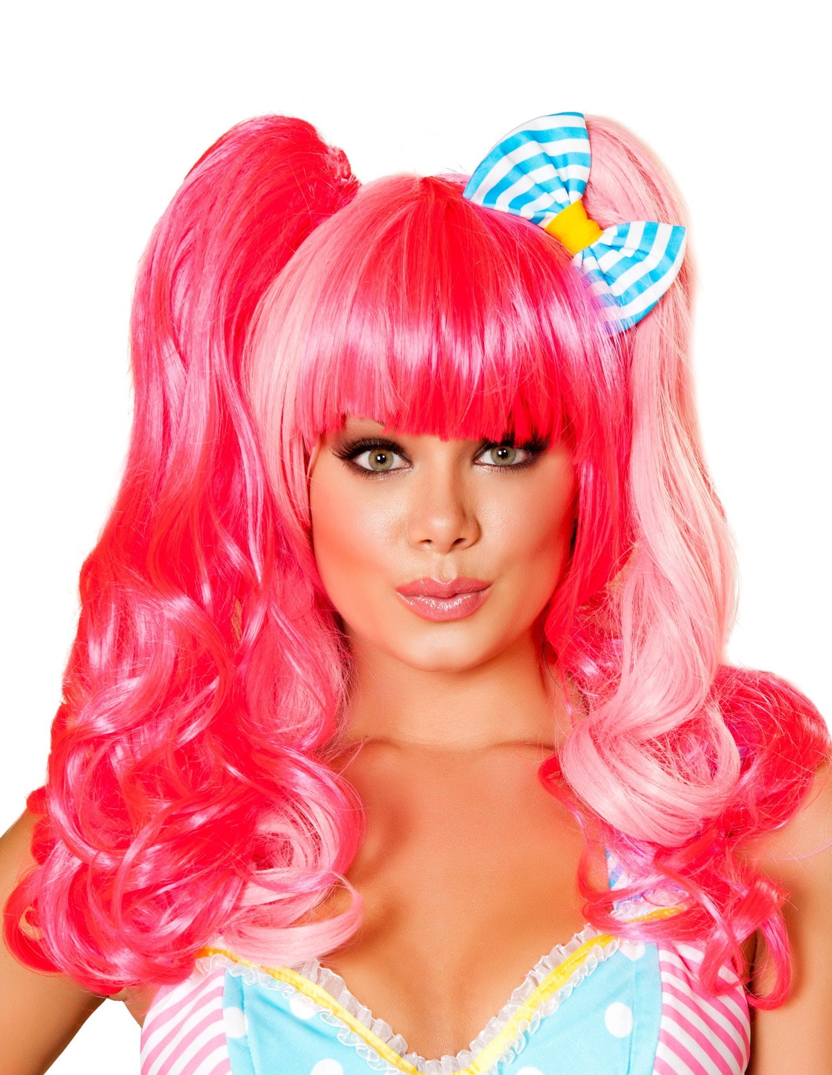Two-Tone Wig