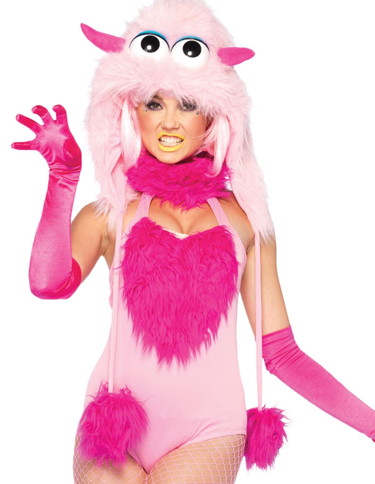 Pinky Puff Romper Costume