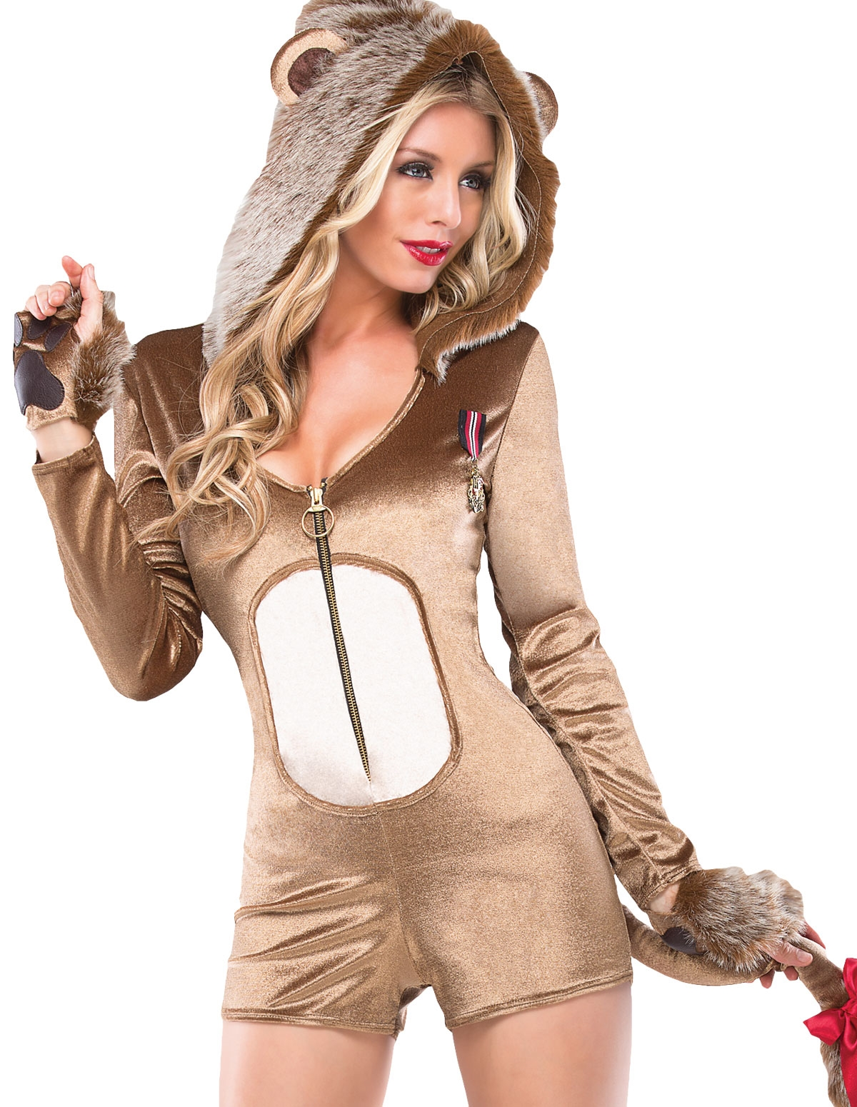 3Pc Lucky Lioness Costume