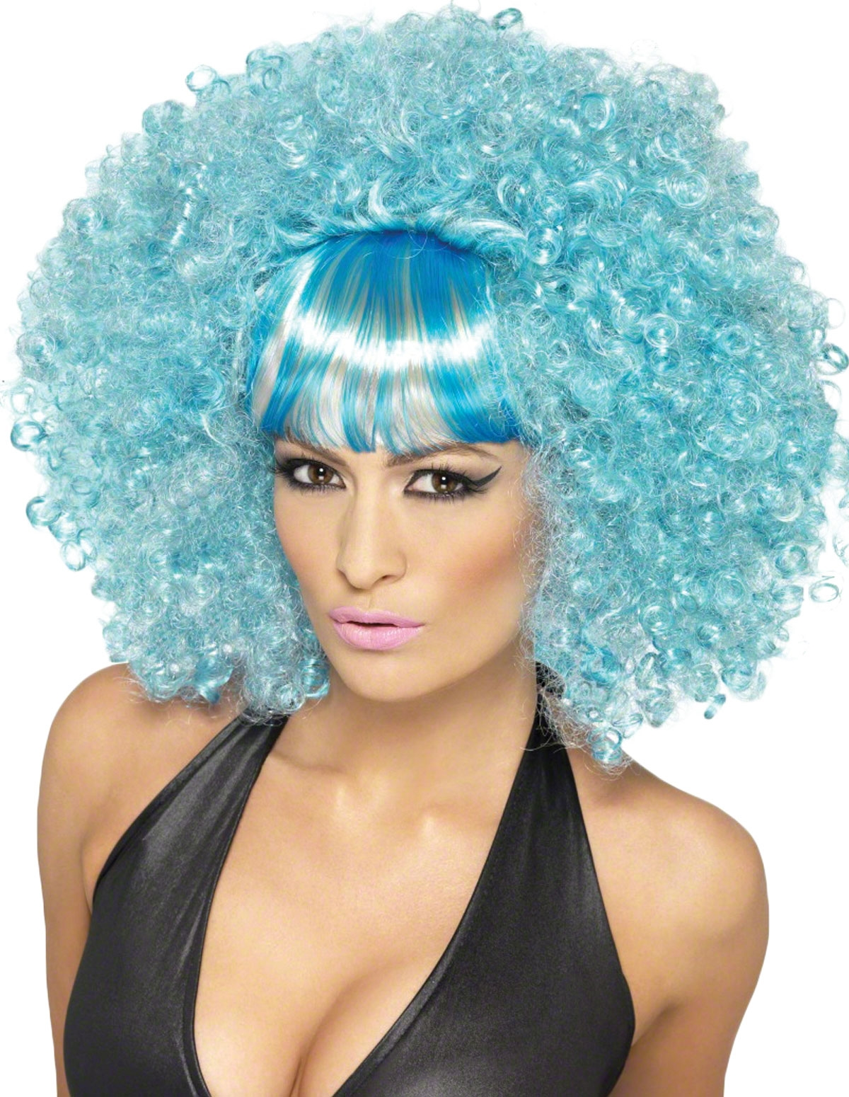 Sexy Blue Afro Wig