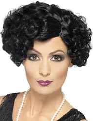 FLIRTY FLAPPER WIG - BLACK