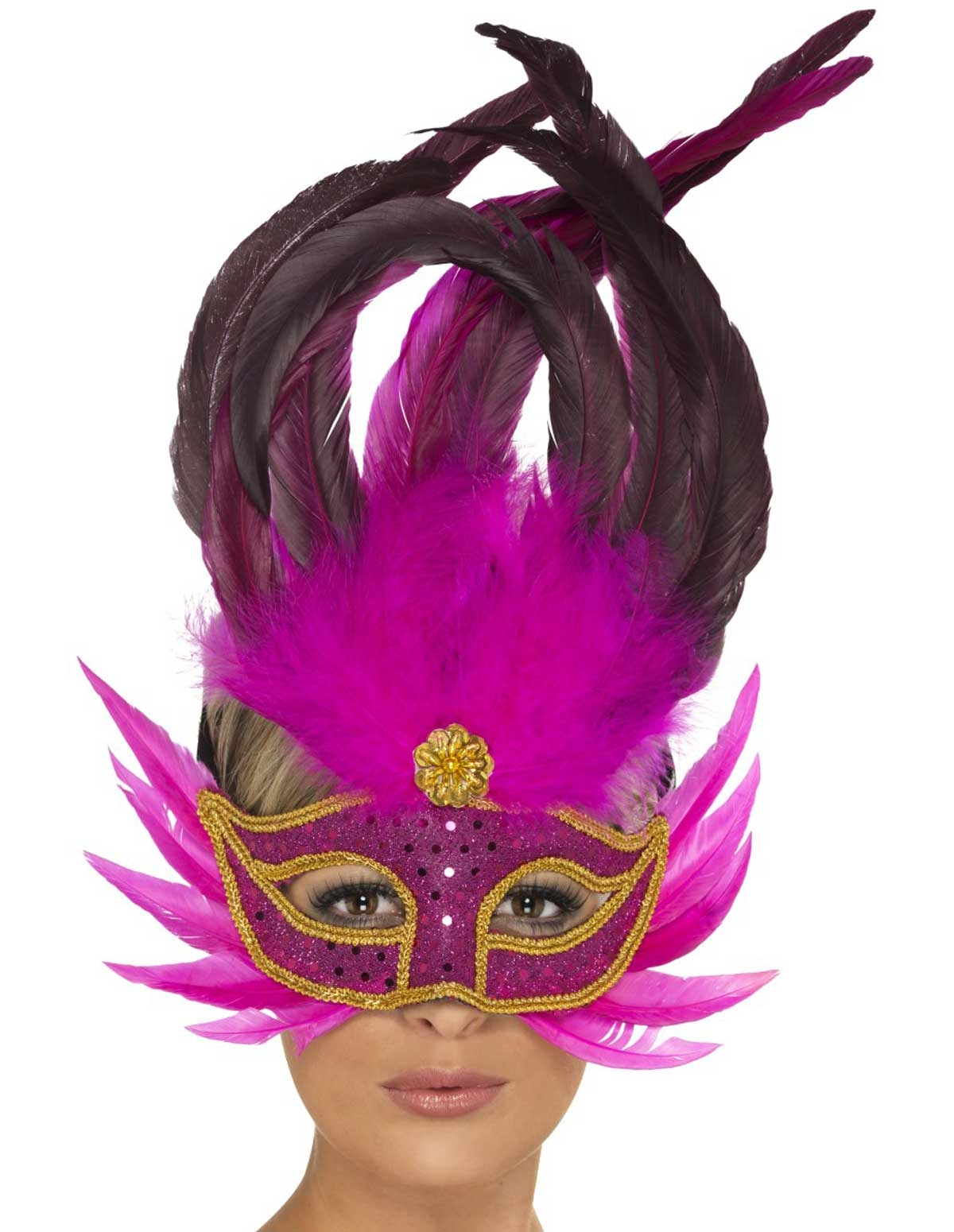 Pink Party Mask