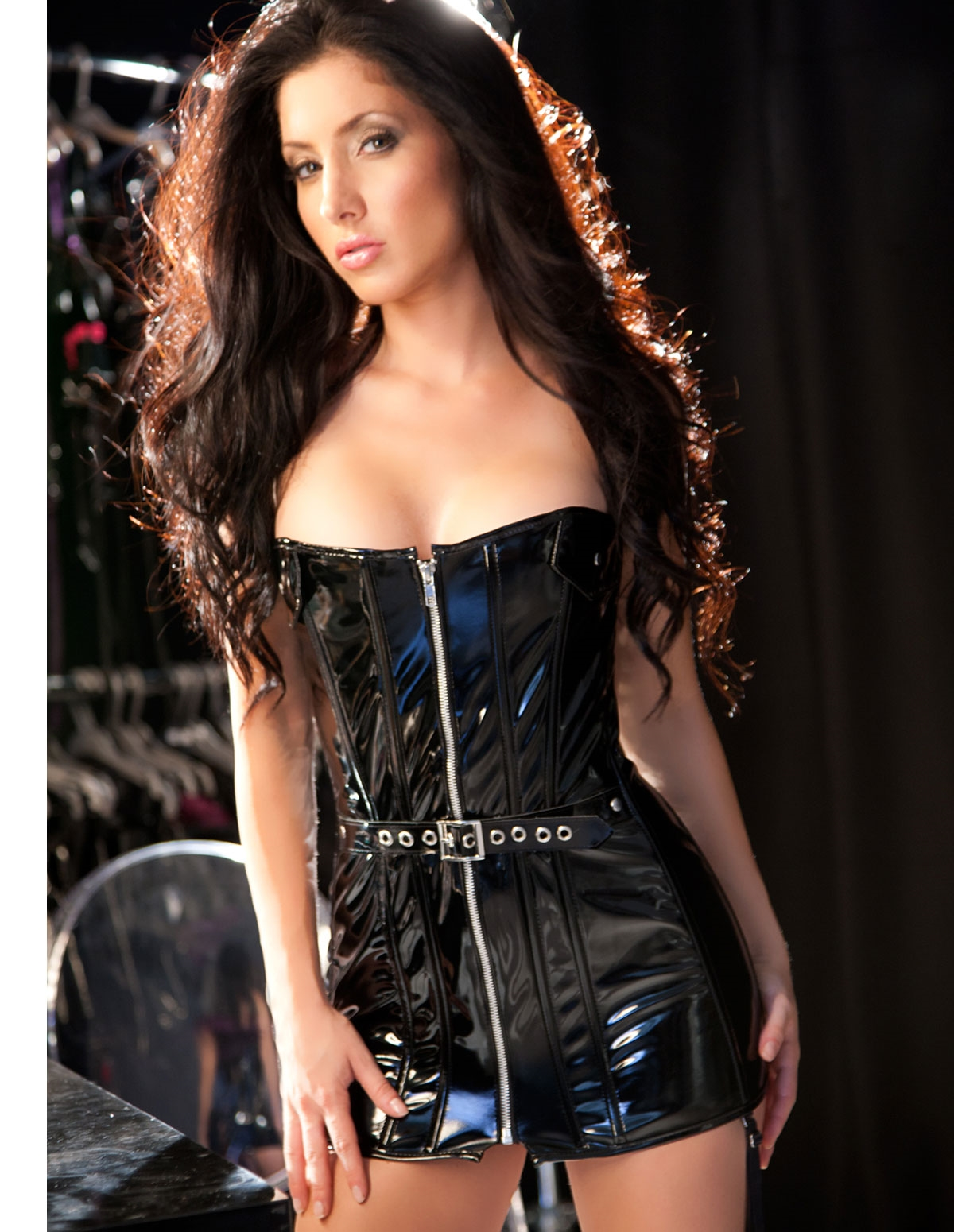 Vinyl Corset Dress