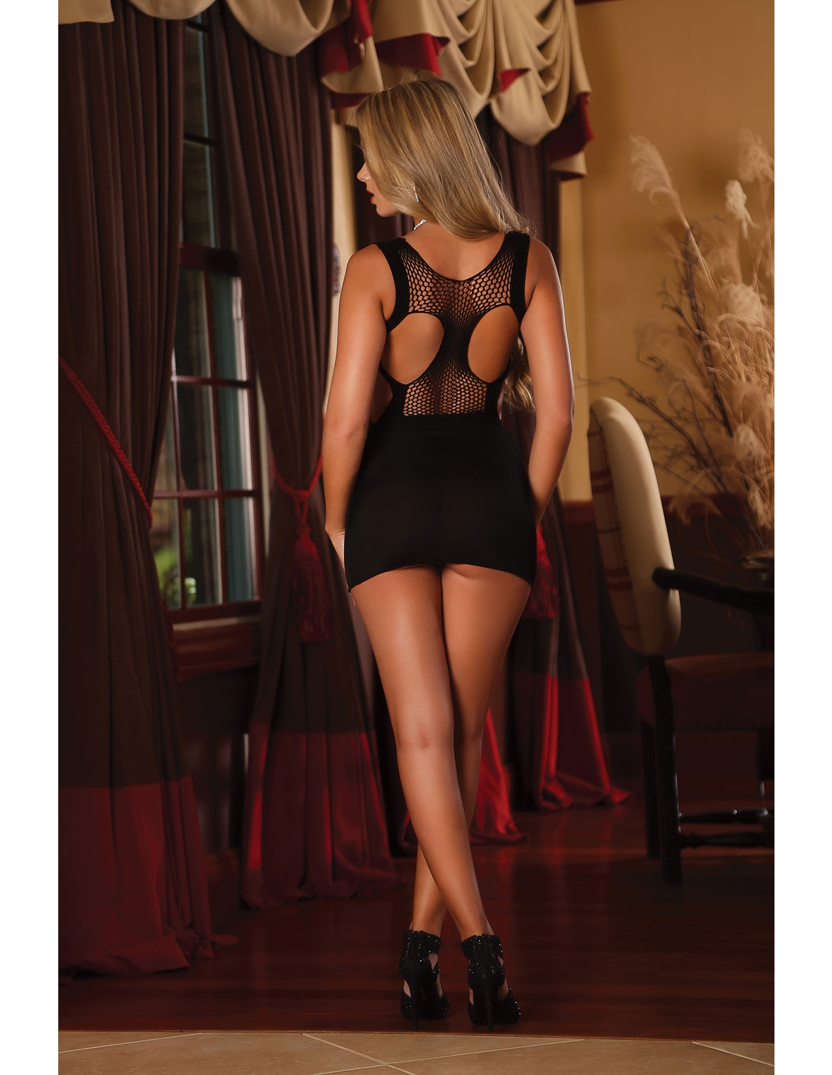 Pretty Woman Seamless Dress