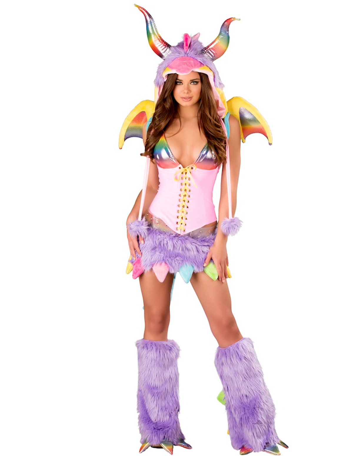 Rainbow Dragon Costume